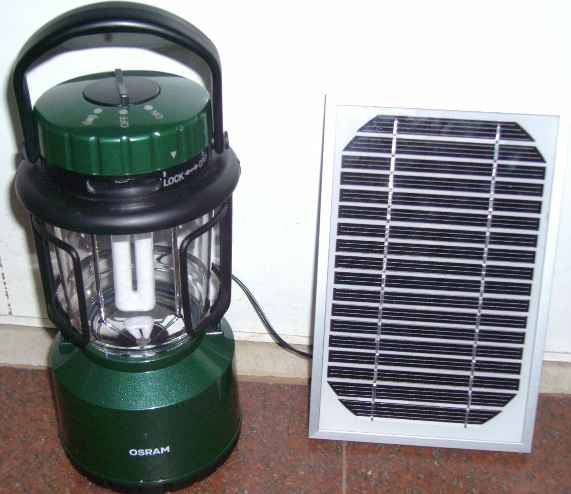 lantern solar lantern green